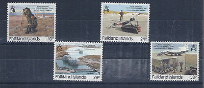 FALKLAND ISLANDS 1987 - mint stamps - postfrisch Nr. 460-463 ** Pioniere
