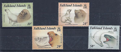 FALKLAND ISLANDS 1987 - mint stamps - postfrisch Nr. 464-467 ** - Robben