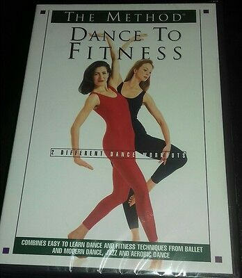 dvd the method dance to fitness new sealed workout exercise tone