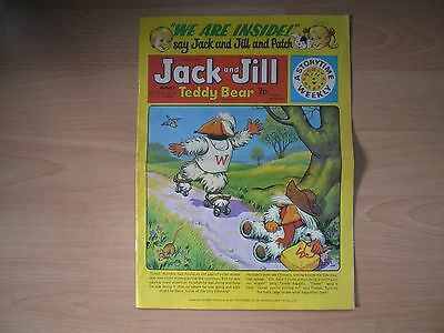 Jack And Jill And Teddy Bear Comic - 1St March 1975 - The Wombles, Tiger Tim & T