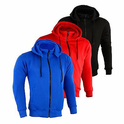 Armoured Hoody Motorcycle Motorbike Hoodie Jacket Zip Up Removable CE Armor UK