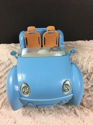 Mattel Barbie Beach Glam Cruiser Blue Convertible Sports Car 2006