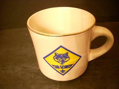 Vintage Bsa Boy Scouts Of America Cub Scout Cup Mug (G8)