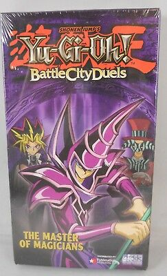 Yu-Gi-Oh Battle City Duels: The Master of Magicians Vol.4 (VHS, 1996) NOS SEALED