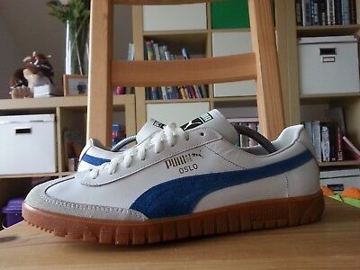 Puma Vintage Schuhe Oslo Made in West Germany Uk 9 Neu new ds shoes trainers 10