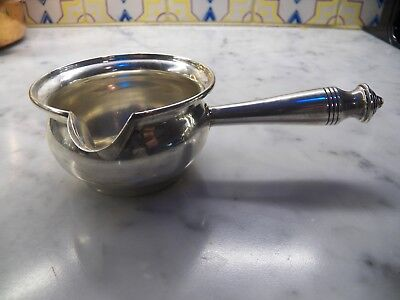 Sterling Silver Gravy/sauce Server By Revere Silversmiths 542  7 1/4""
