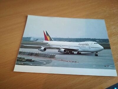 1 postcard Philippines Airlines