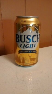 BUSCH LIGHT 2017 Gold Trophy Beer Can Empty Sweepstakes