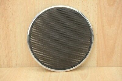 DOOR SPEAKER GRILLE / COVER (CHARCOAL / CHROME RIM) - Jaguar X-Type 2003-2010