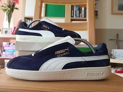 Puma Vintage Schuhe Azzuro 80s Italy shoes trainjers new ds neu ovp box suede