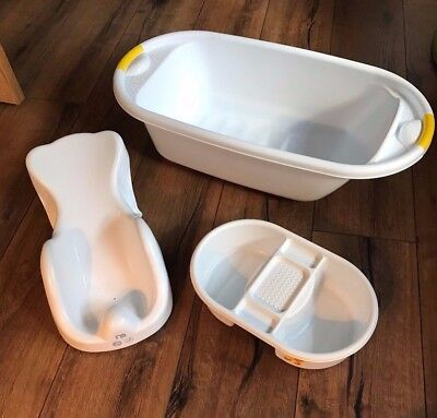 Baby bath, top & tail bowl and baby bath seat - Pick up from Bramhall Stockport