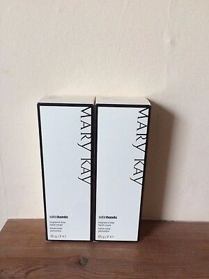 Mary Kay Hand Cream Satin Hands Fragrance Free Lot of 2 New Expired