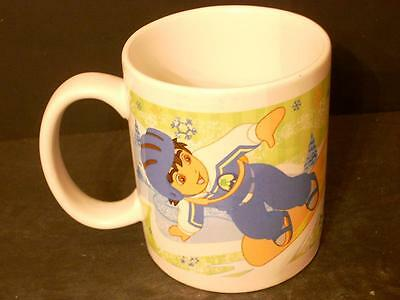 2007 Dora The Explorer Diego Coffee Cup Mug Snowboarding Skiing Viacom  (G6)