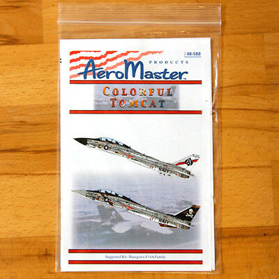 F-14A Colourful Tomcat Decals Aeromaster 48-588 1/48