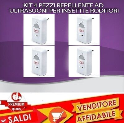 Pest Reject Insetticida Anti Zanzare Scaccia Topi Insetti Repellente Ultrasuoni