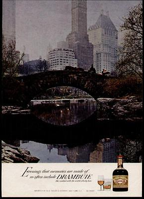 1967 Carriage Ride In Central Park Drambuie Ad