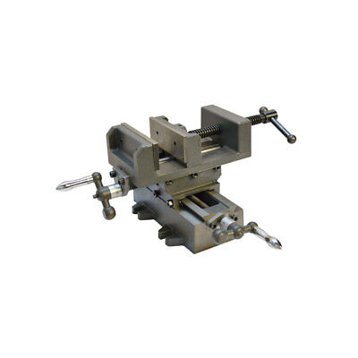 """2 Way 4"""" Drill Press Cross Slide X -Y Compound Clamp Vise Metal Milling Vice"""