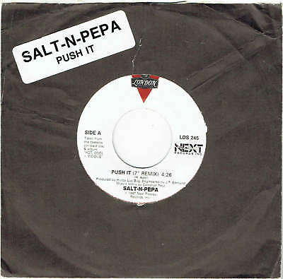 "Salt-N-Pepa - Push It - 7"" 45 Vinyl Record - 1987"
