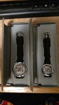 1999 Home Depot XX Anniversary Managers Watches (1) Man (1) Woman NEW IN CASES