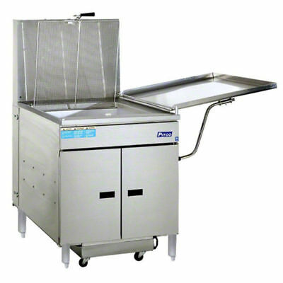 Pitco 24RUFM SS Donut Fryer gas 117 lb. fat cap. STAINLESS STEEL SAVE $20,000 +
