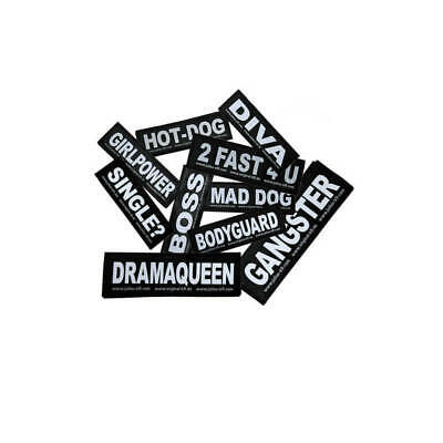 Julius-K9® Labels Patches for Dog Harnesses Belt Harness Guide Harnesses Collars