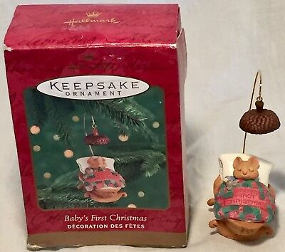 Baby's First Christmas 2000 Hallmark Keepsake Ornament