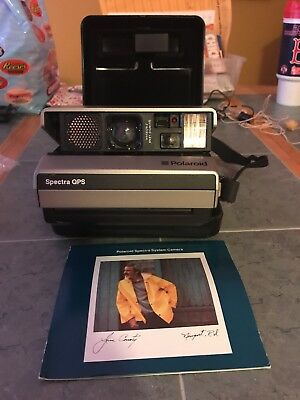 Vintage Polaroid Spectra QPS Instant Camera Quick Pulse Sonar 1980s Photography