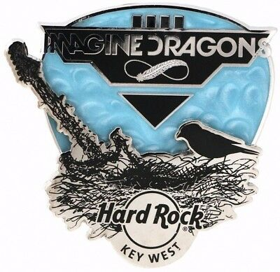 Hard Rock Cafe 2015 Key West Imagine Dragons Signature Series Pin