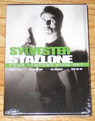 4 Film: Sylvester Stallone (DVD, 2007)Demolition Man Specialist Tango & Cash NEW