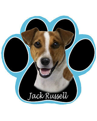 Brand New Jack Russell Paw Shaped Dog Computer Mousepad - Very Cute