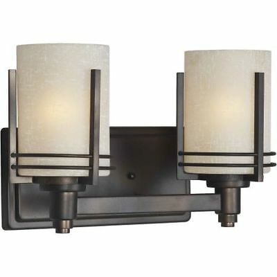 Forte Lighting 5389-02 Antique Bronze Double Wall Sconce
