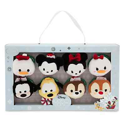 Disney Store Tsum Tsum Holiday Set - Mickey Mouse & Friends Christmas Sold Out