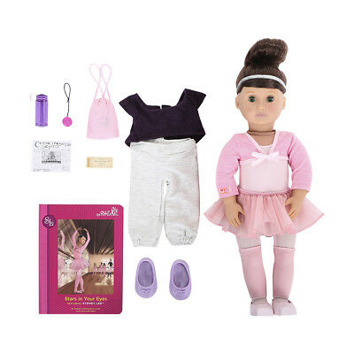 Our Generation Sydney Lee 46cm Doll Ballet Dancing Toys Birthday Christmas Gift