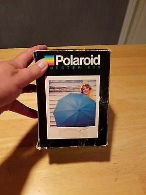 POLAROID ONE-STEP Close-Up 600 Instant Film Camera Flash Not Tested #225