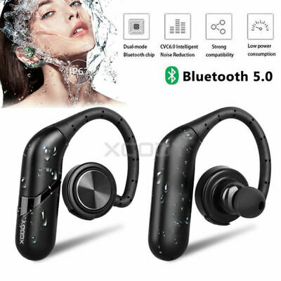Waterproof True Wireless Sport Earbuds Headset Bluetooth HIFI Stereo Headphone