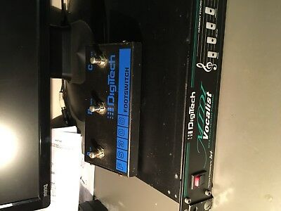 Digitech Vocal and guitar Harmoniser rack. MV-5 with foot controls.