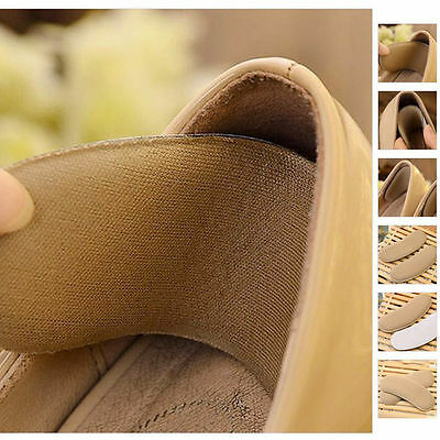 New 5 Pairs/Set Extra Sticky Fabric Shoe Heel Inserts Insoles Pads Cushion Grips