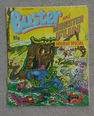 Buster and Monster Fun comic - Holiday Special 1990
