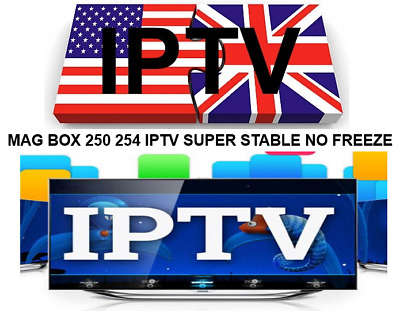 IPTV MAG Boxes / Android / Amazon Fire 24 Hour Trial M3u, Smart STB App UK + USA