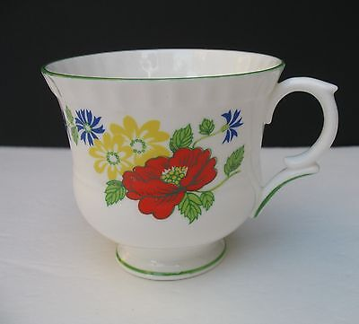 Crown Staffordshire ENGLISH GARDEN Cup Only  Teacup