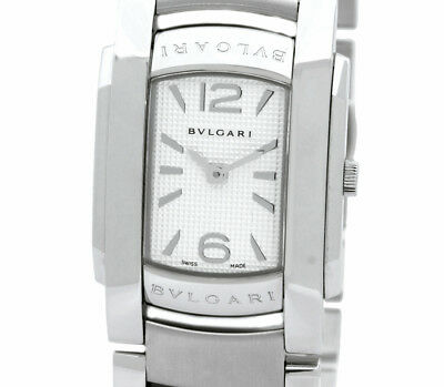 07b8431b356 Pre-Owned BVLGARI Ashoma D All SS White Dial Women s Quartz Wristwatch  AA35S