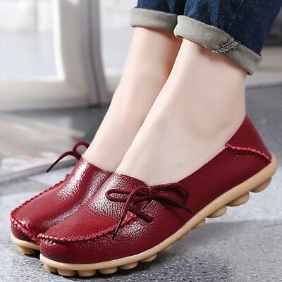 Women 5 Colors Ballet Shoes Flats Plus Size 44 Casual Shoes Solid Womens Loafers
