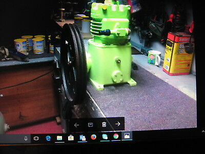 """Bitzer Type V Refrigeration compressor with 18"""" pulley wheel,look!!"""