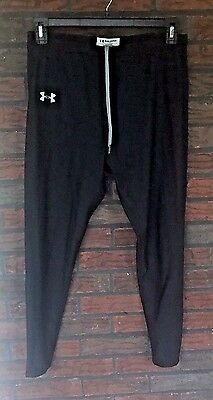 Under Armour Cold Gear XL Pants Drawstring Black Extra Large Athletic Boys Girls
