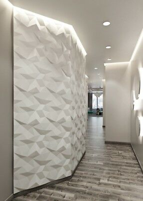 Crafts *crust* 3d Decorative Wall Panels 1 Pcs Abs Plastic Mold For Plaster