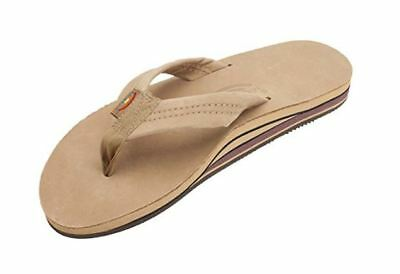 Rainbow Sandals Mens Premier Leather Double Stack, Sierra Brown Size XL New
