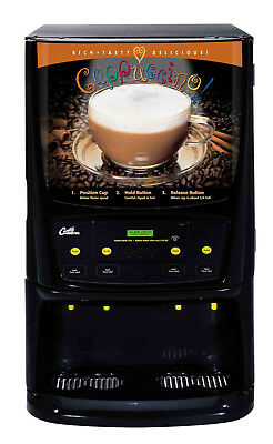 Curtis PCGT4 Commercial Cappuccino Machine &Warranty Cert  CONTACT 2 SHIP