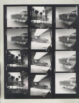 1964 AMC Rambler Marlin Concept Contact Sheet ORIGINAL Factory Photo wy8100