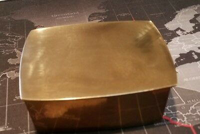 Vintage box with lid by Wah Ming Chang, Bronze Originals of California