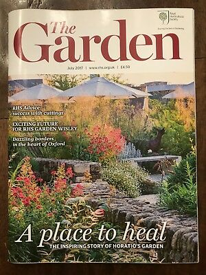 THE GARDEN - RHS - Royal Horticultural Society -  Ausgabe Juli 2017
